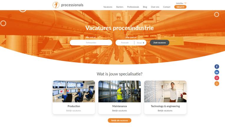 Vacature procesindustrie