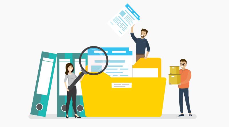 Automatische dossiervorming en eenvoudig zoeken