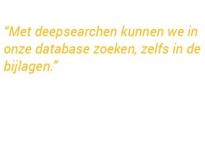 Deepsearch in database