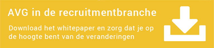 AVG in de recruitmentbranche