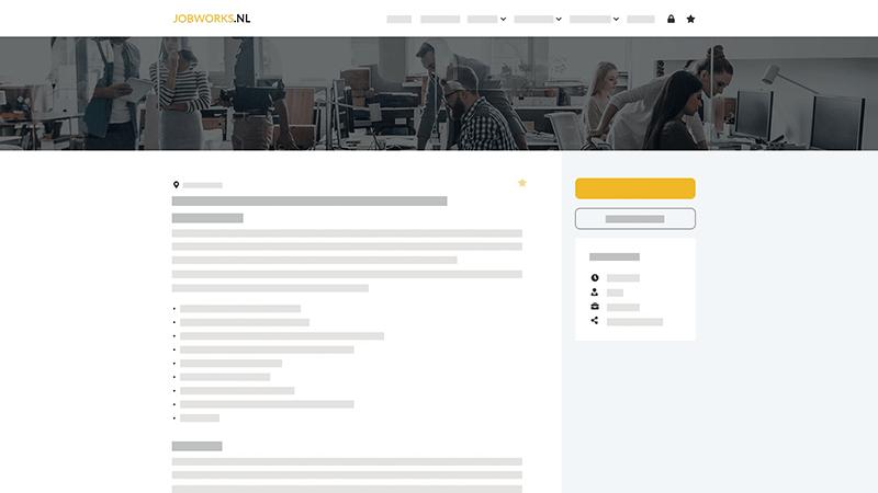 Koppeling met vacature website