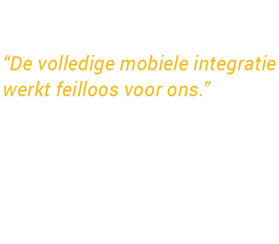 Volledig mobiele integratie